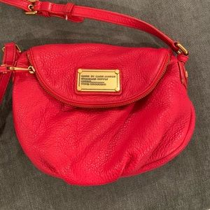 Red Natasha mini crossbody Marc by Marc Jacobs